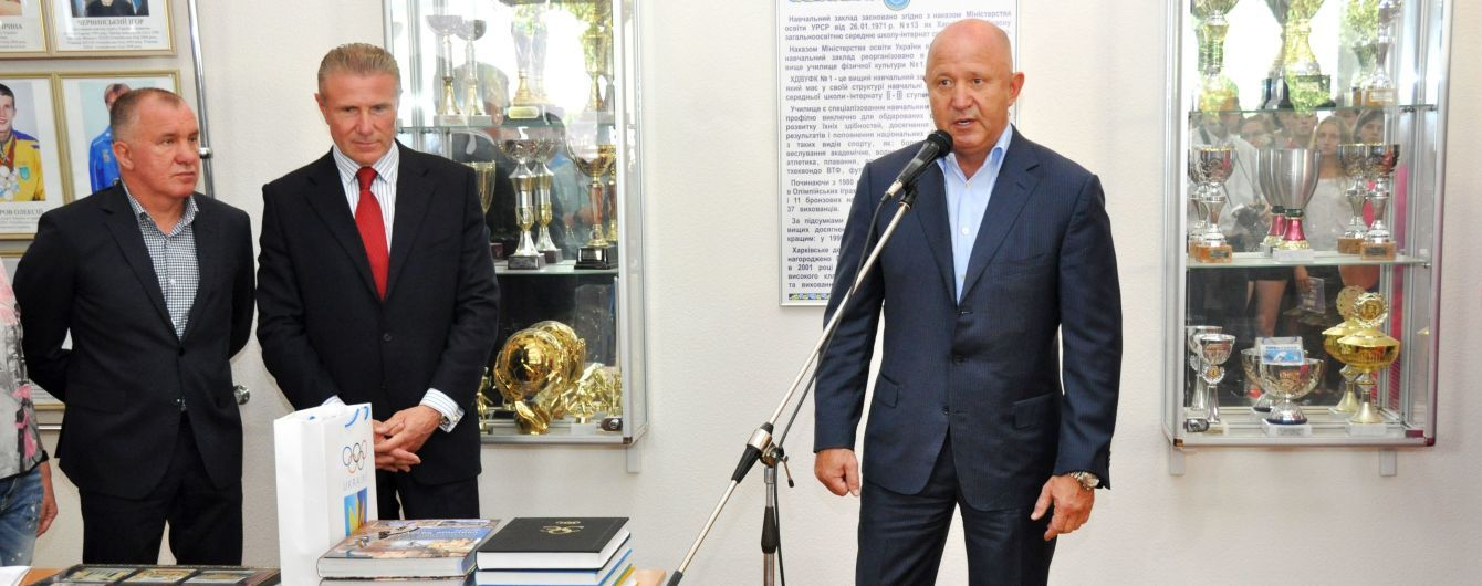 В Харькове прошел всеукраинский олимпийский урок с президентом НОК Украины Сергеем Бубкой