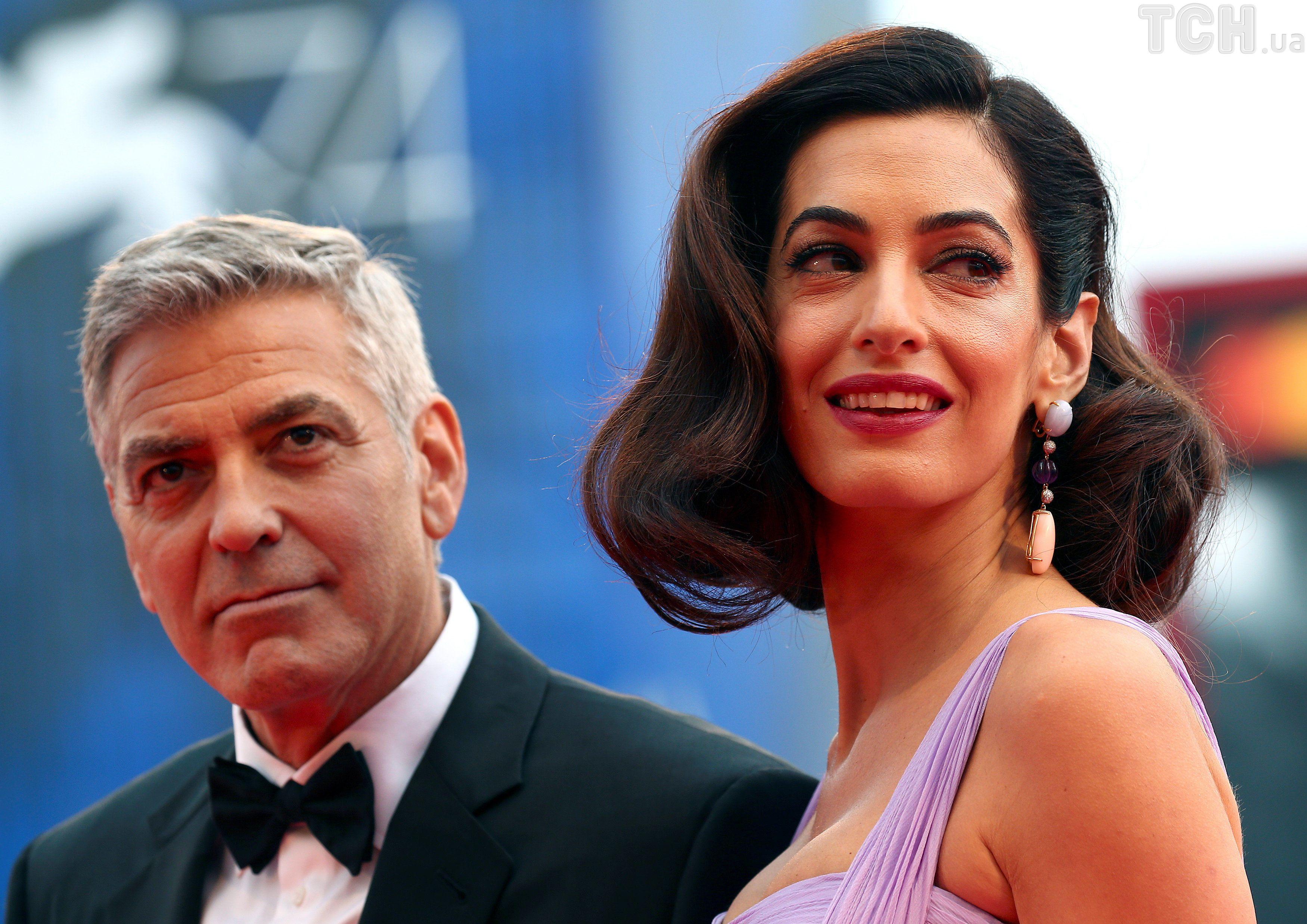 Джордж Клуні та Амаль Клуні _1