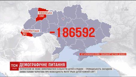 Общественность осудила заявление мэра Чернигова о необходимости иметь трех детей в каждой семье