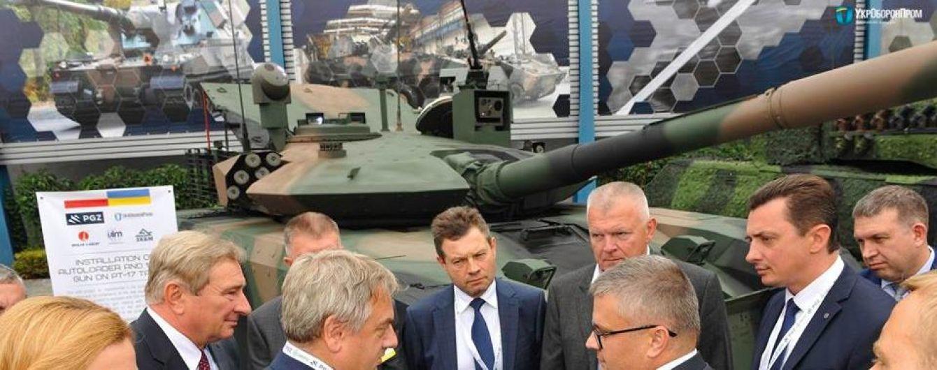 Украина и Польша представили модернизированный под стандарты НАТО танк