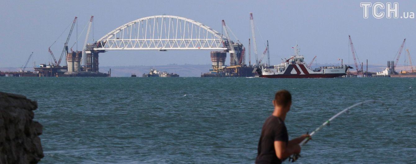 Российский мост в Крым близок к завершению - The Guardian