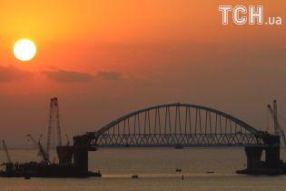 Блогер заявил о приостановке строительства Керченского моста из-за нестабильных опор
