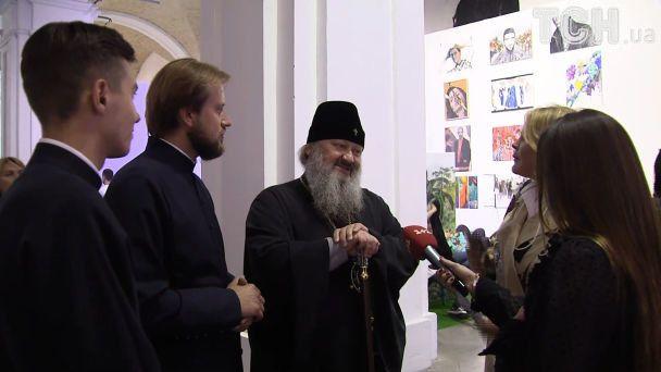Скандальный настоятель Лавры Павел пришел на модный показ UFW и похвастался дизайнерской одеждой