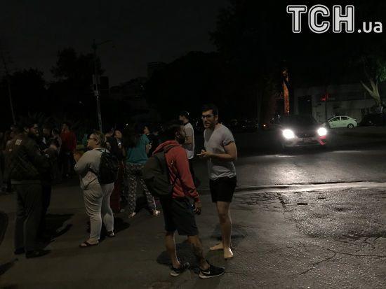 Поблизу узбережжя Мексики стався потужний землетрус