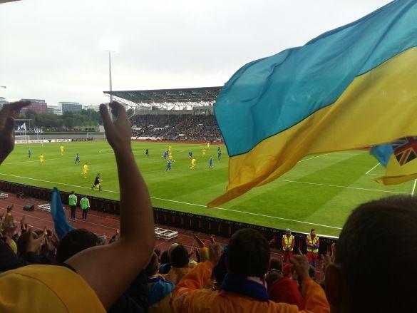 Уболівальники в Ісландії