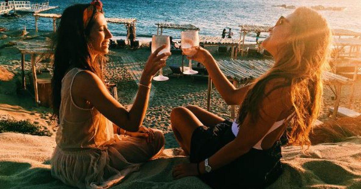 Уже замужняя дочь Меладзе устроила себе девичник @ instagram.com/ingameladze