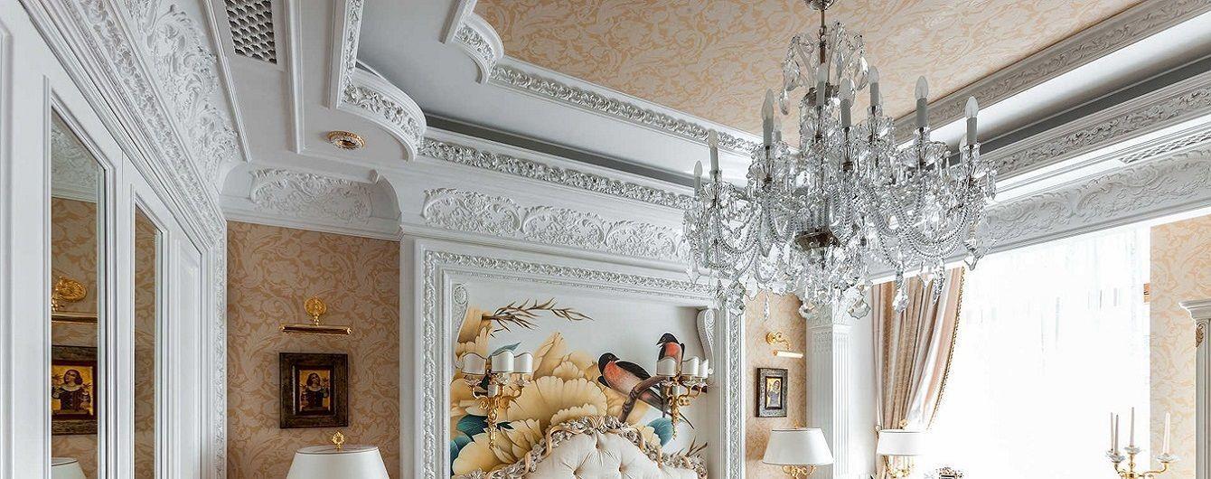 Гипсовая лепнина — популярное направление в дизайне интерьера
