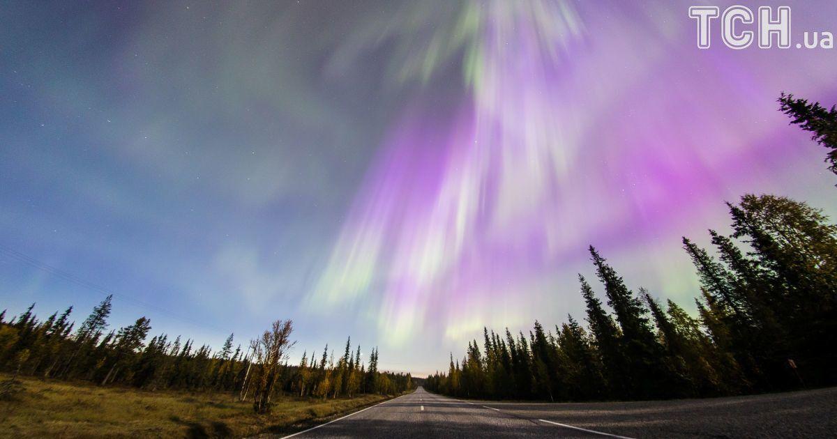 Reuters показало фантастические фото Северного сияния в Финляндии