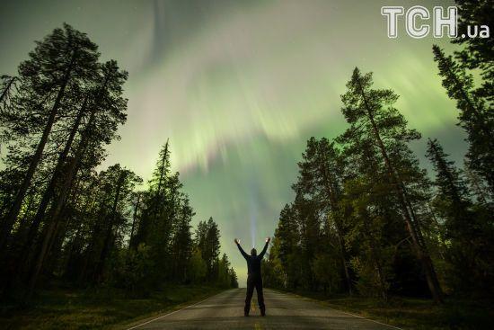 Reuters показало фантастичні фото Полярного сяйва у Фінляндії