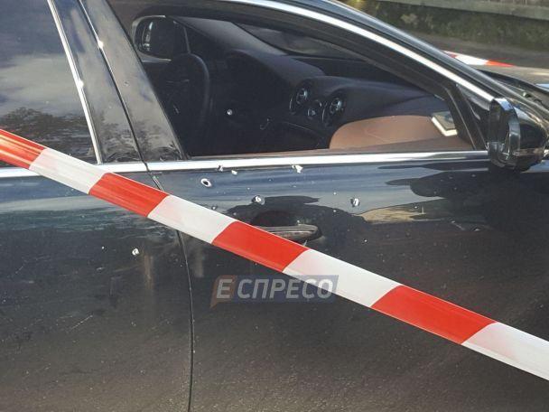 В результате стрельбы на дороге в Киеве пострадали иностранцы