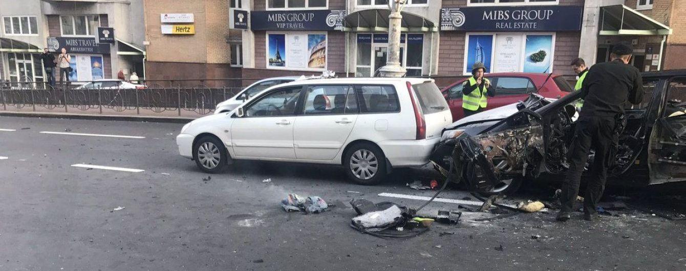 Вибух у Києві спричинила вибухівка закладена в авто - поліція