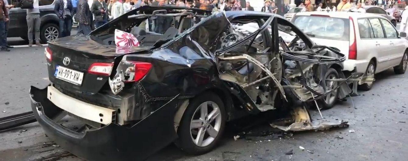 В полиции сообщили детали взрыва автомобиля в центре Киева