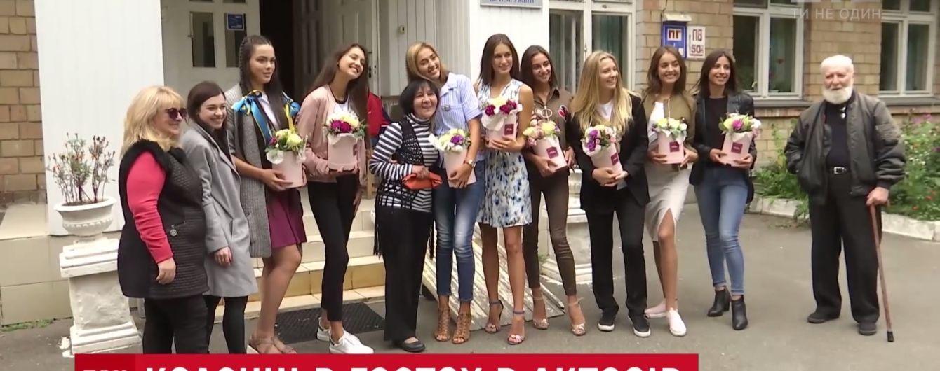 """Встреча красоты и старости: финалистки """"Мисс Украина"""" посетили дом ветеранов"""