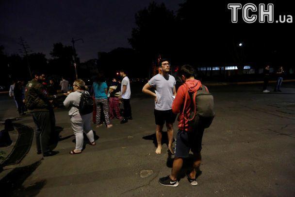 Потужний землетрус вдарив по Мексиці