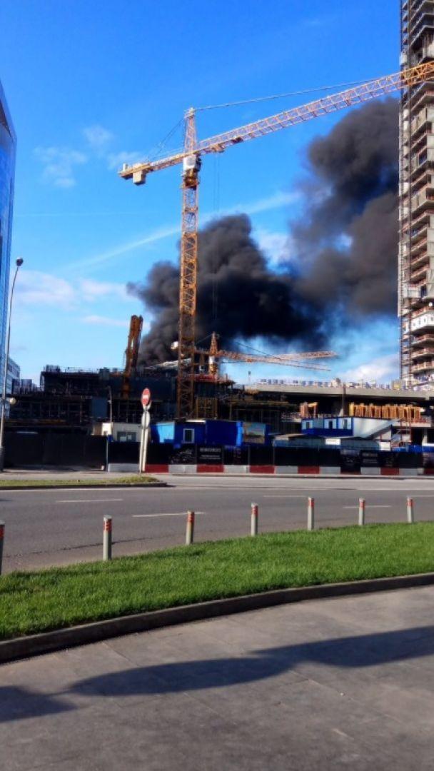 """У столиці Росії загорівся один із хмарочосів """"Москва-Сіті"""""""