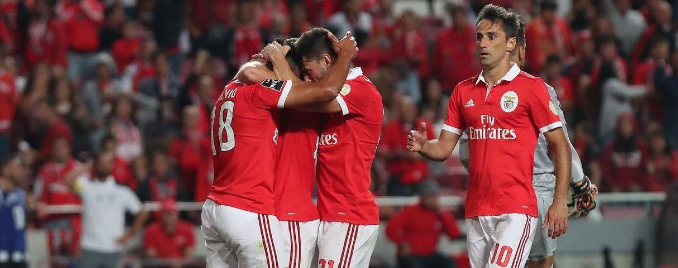 Португальский футболист забил красивый гол по невероятной траектории