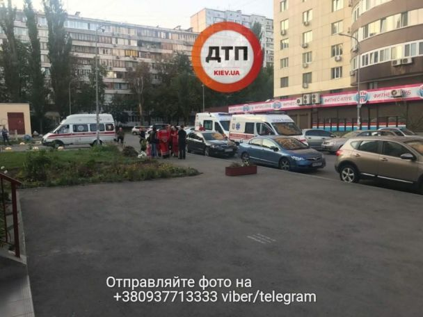В Киеве на детской площадке произошла стрельба, есть раненая