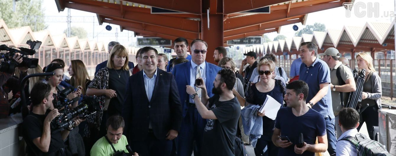"В Нацполиции открестились от задержки отправки из Польши ""Интерсити"" с Саакашвили"
