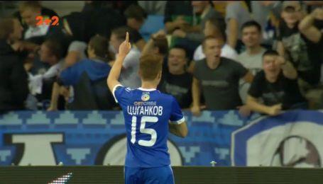 Динамо - Олександрія - 3:0. Відео голу Циганкова