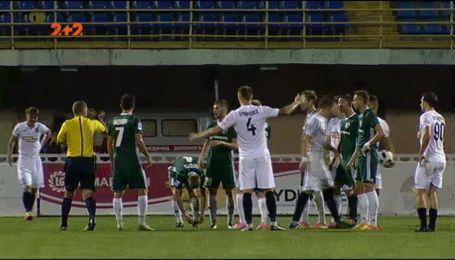 Ворскла - Олимпик - 1:1. обзор матча