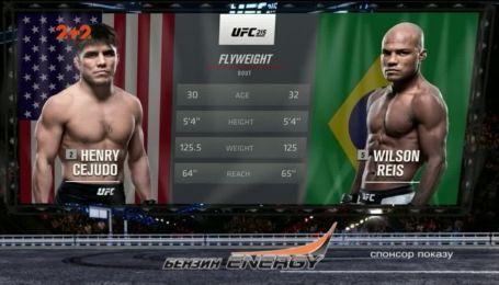 UFC. Генрі Сехудо - Вілсон Рейс. Відео бою