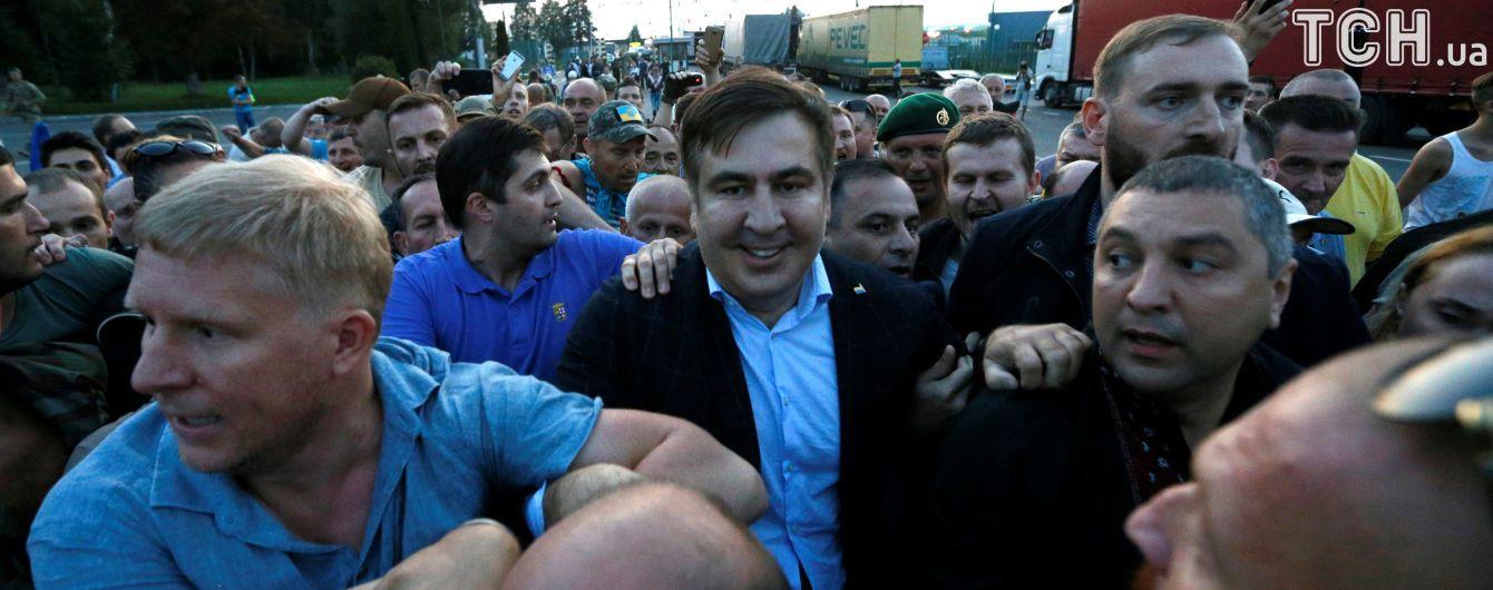 Аваков предложил Саакашвили и Ко узаконить прорыв госграницы