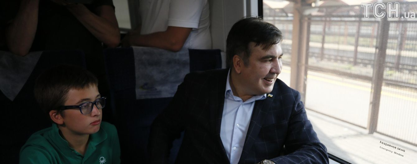Саакашвілі прорвався до України: читайте найголовніше в текстовому онлайні