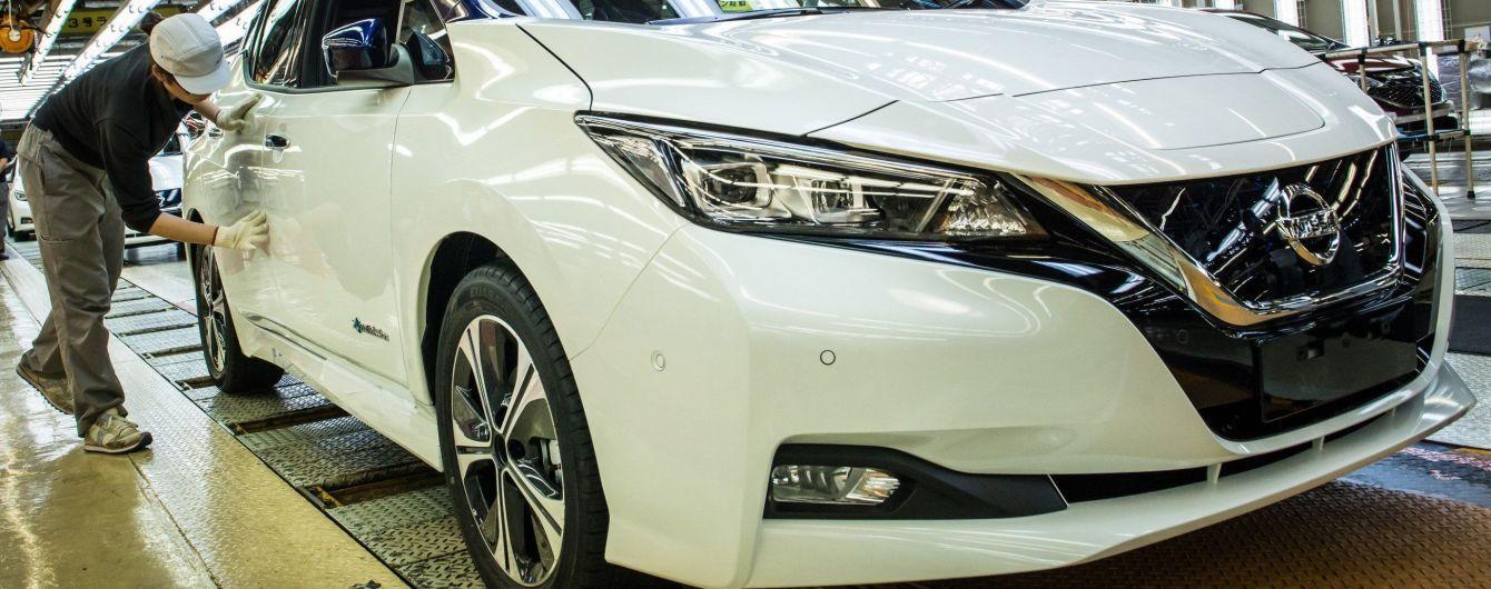 Nissan планирует начать производство нового Leaf еще на двух заводах