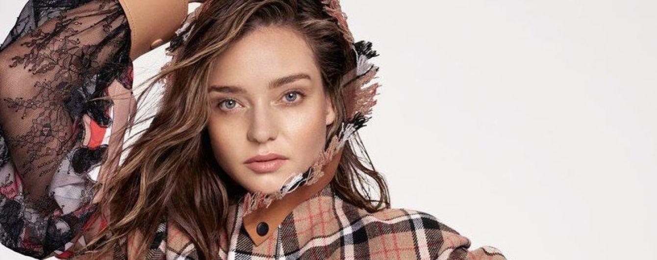 Стильная и красивая: Миранда Керр в новом фотосете для глянца