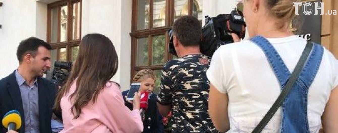 У львівський готель до Саакашвілі вже приїхали Тимошенко і Семенченко