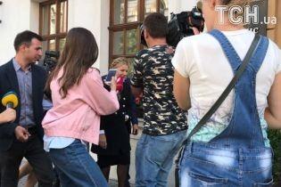 Тимошенко выступила рупором Саакашвили и объявила о совместном плане оппозиции