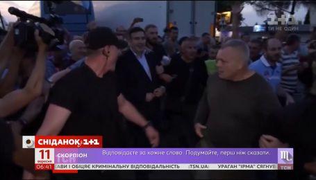 Прорыв границы: как Михеилу Саакашвили удалось вернуться в Украину