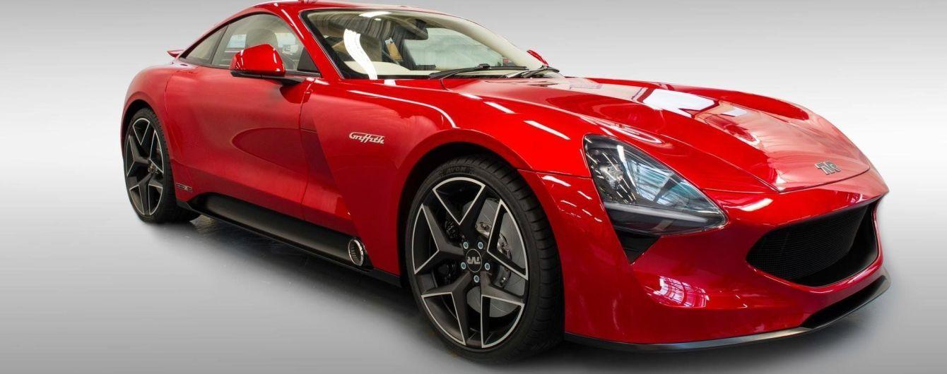 TVR представил новый спорткар Griffith