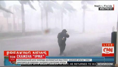 """Шалена """"Ірма"""" та ще як мінімум п'ять торнадо атакують Флориду"""