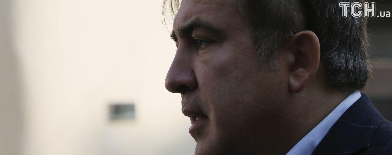 """Саакашвили ответил на заявление Порошенко и заверил, что """"готов умереть за этот народ"""""""