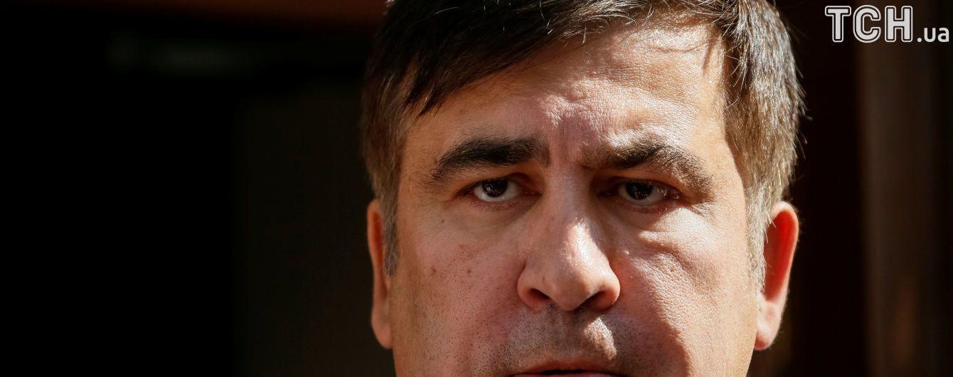 Саакашвили вернулся в Украину. Второй день в текстовом онлайне