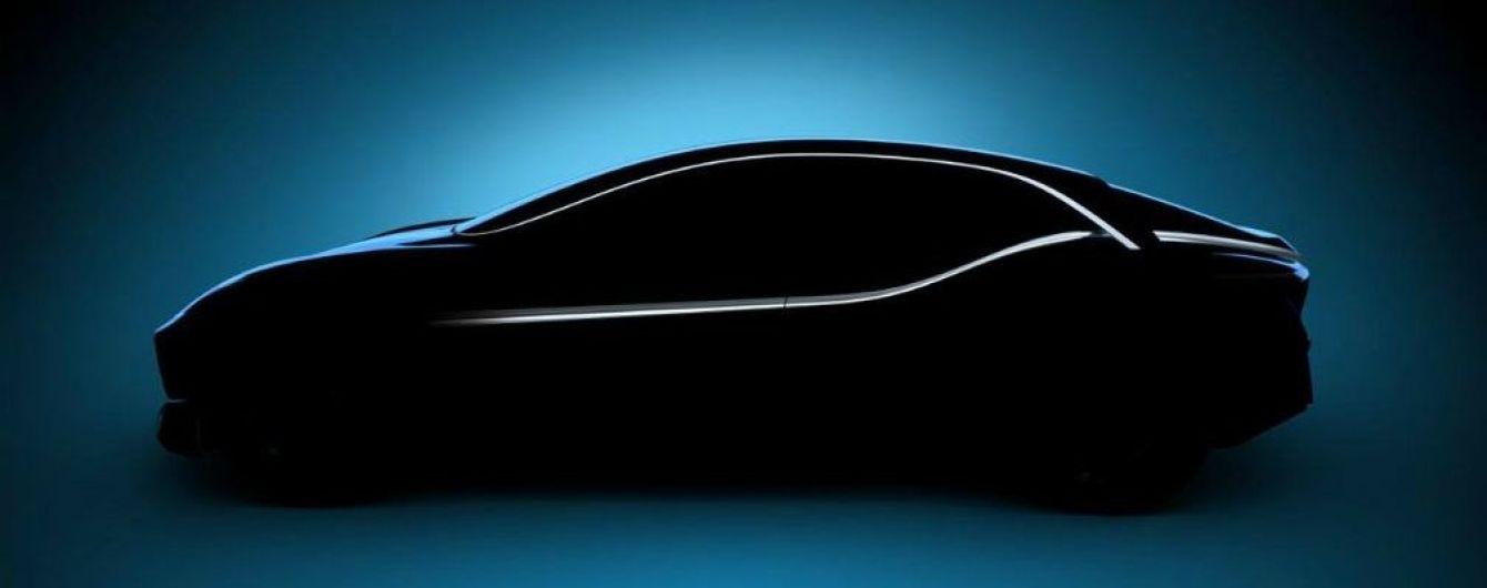 Китайский бренд Borgward опубликовал очередной тизер концептуального спорткара