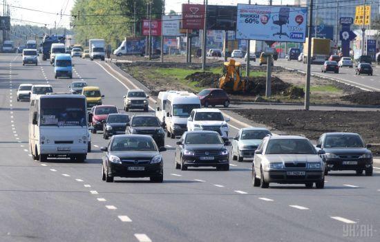 В Україні хочуть зменшити ширину смуг на дорогах