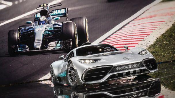 Mercedes-AMG привез во Франкфурт супергибрид Project One