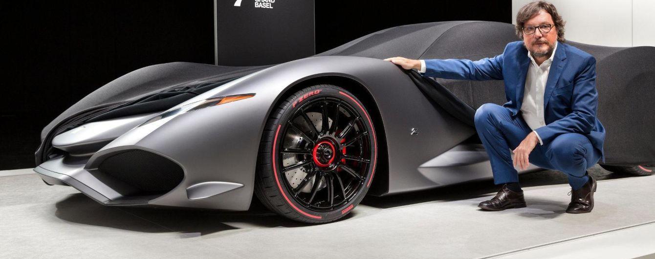 Zagato готовит виртуальный суперкар для видеоигры Gran Turismo