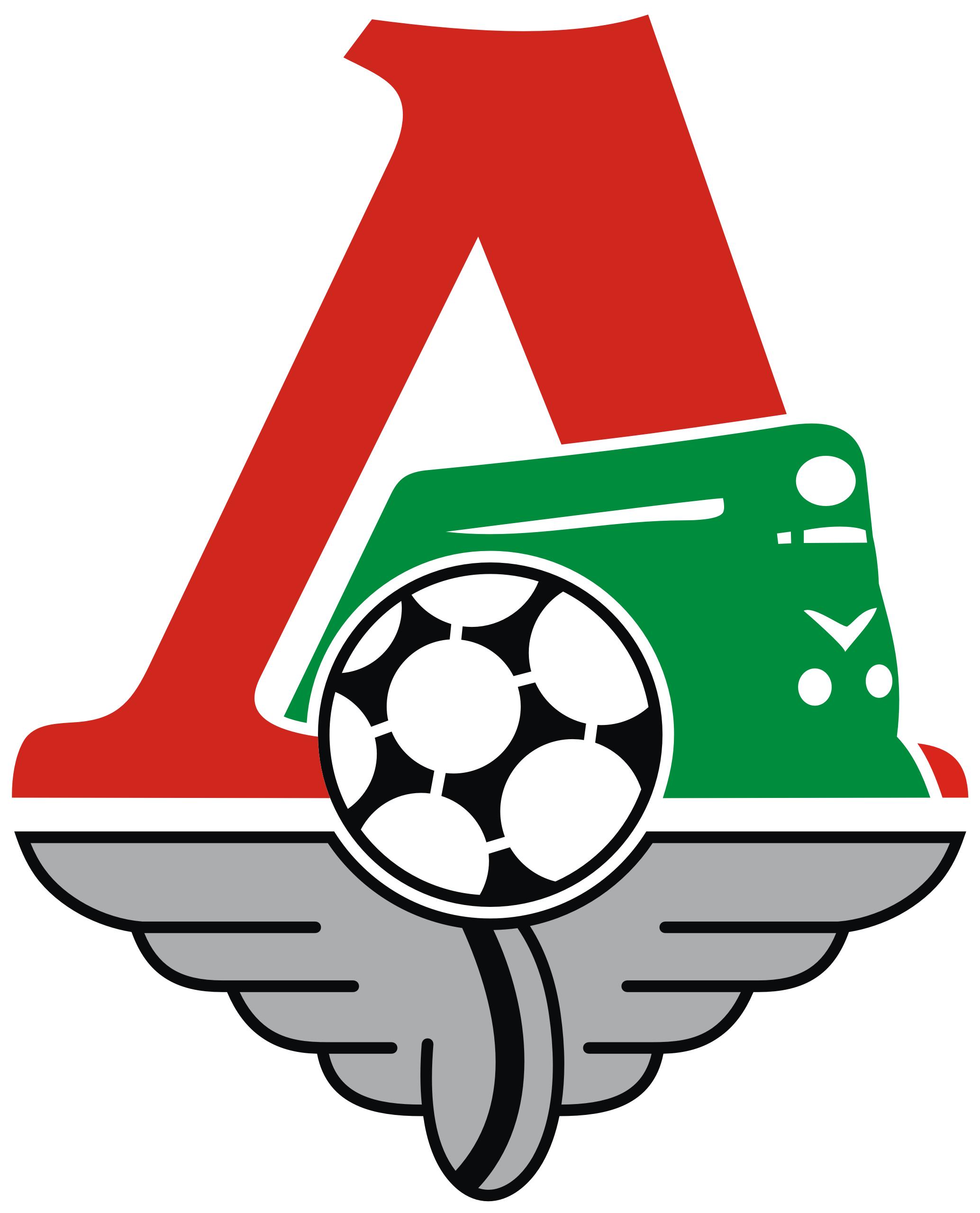 Эмблема ФК «Локомотив Москва»