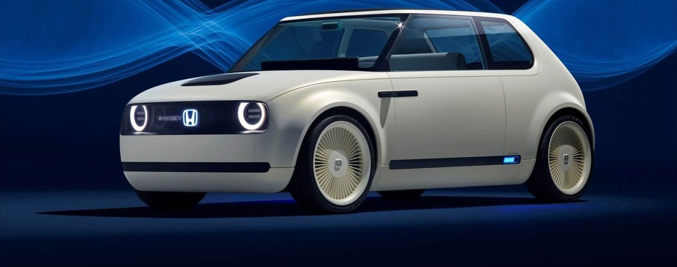Honda представила электрокар Urban EV