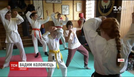В Сумах открыли секцию каратэ для детей с ограниченными возможностями
