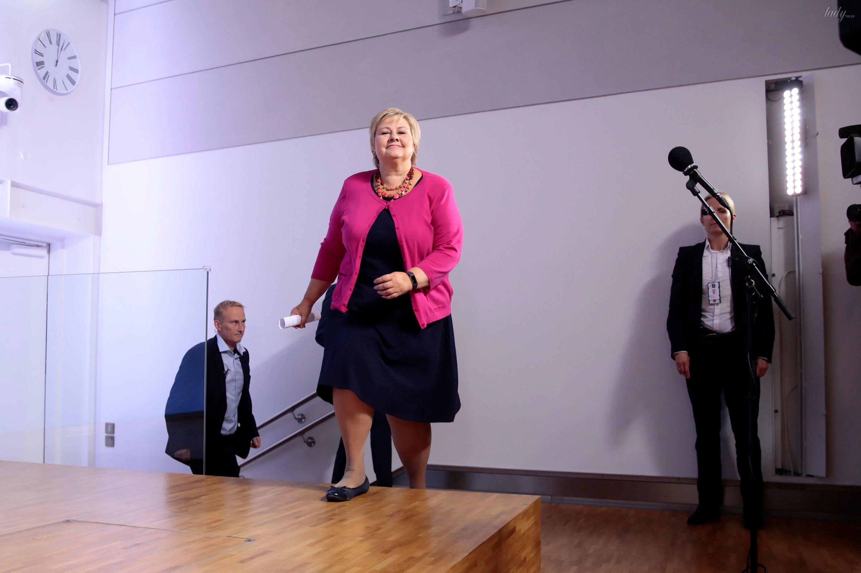 Премьер-министр Норвегии Эрна Сульберг_4