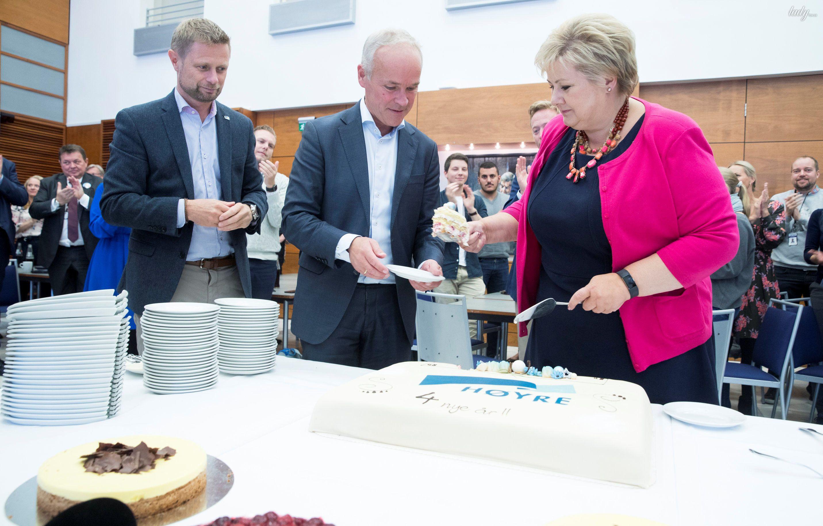 Премьер-министр Норвегии Эрна Сульберг_6