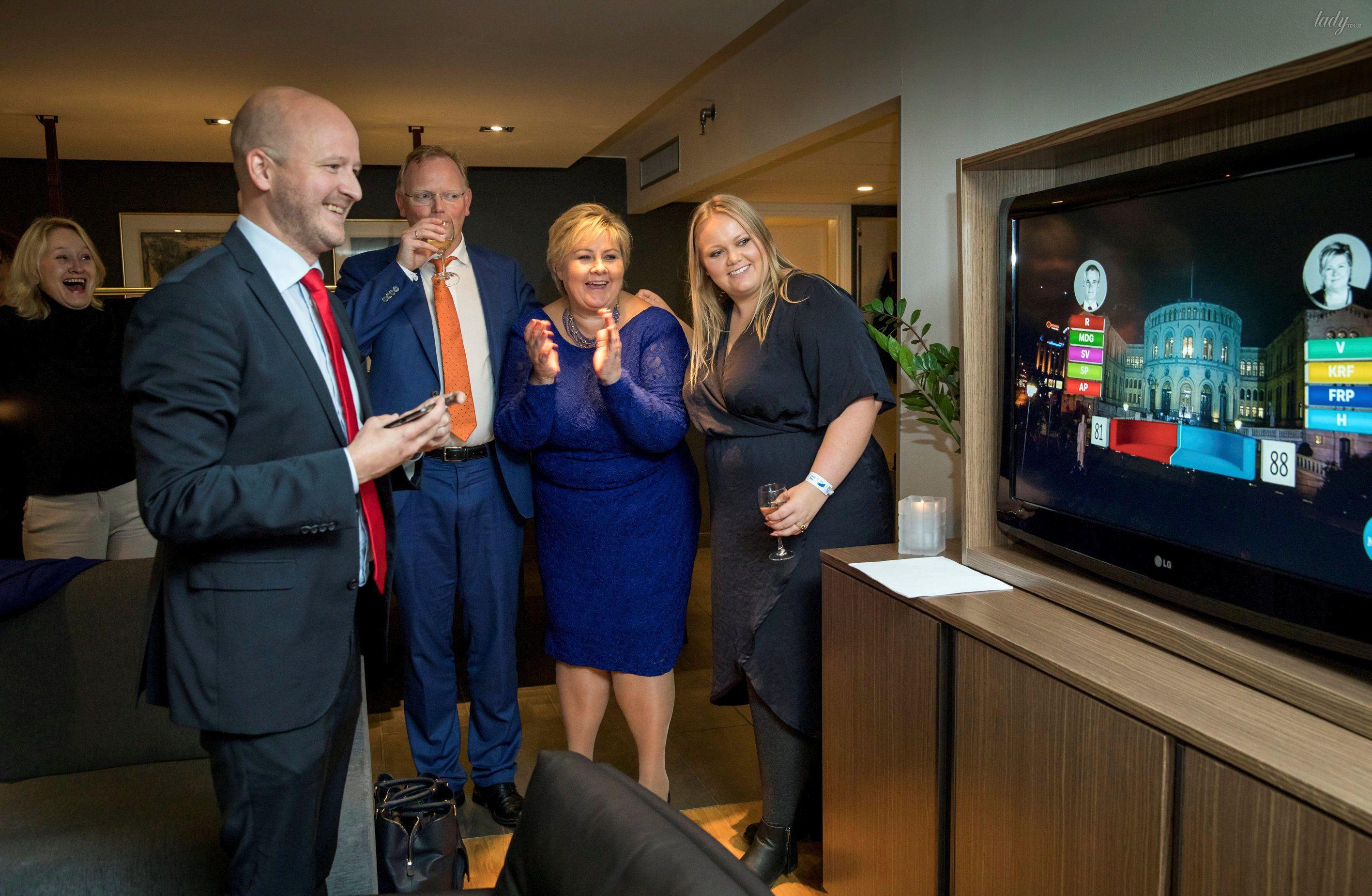 Премьер-министр Норвегии Эрна Сульберг_3