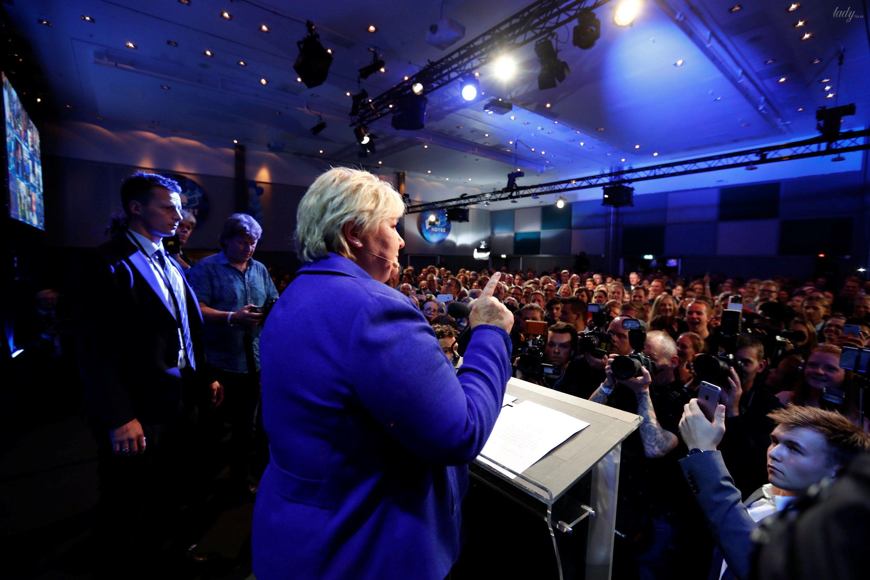 Премьер-министр Норвегии Эрна Сульберг_2