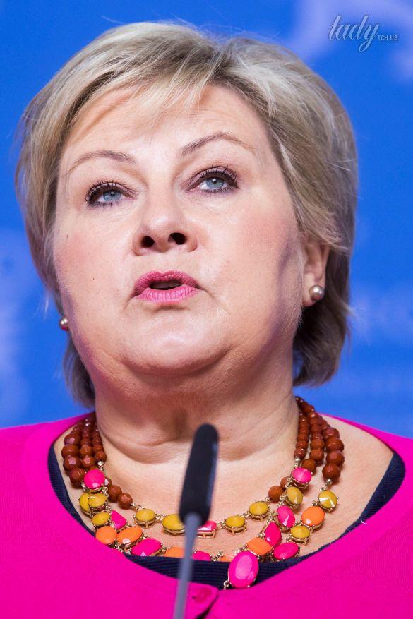 Премьер-министр Норвегии Эрна Сульберг_5