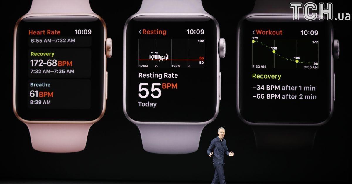 Презентация Apple Watch Series 3.