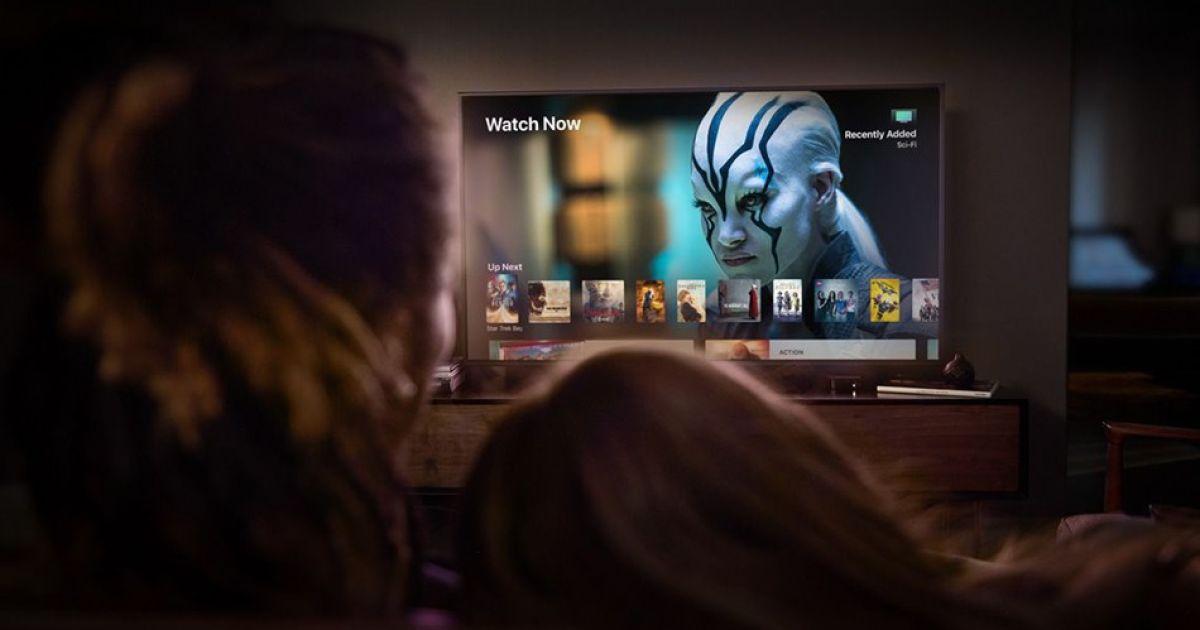 Презентация приставки Apple TV.
